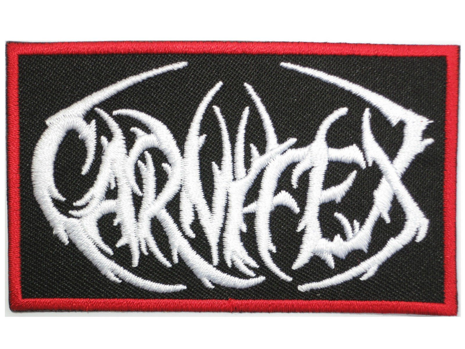 "CARNIFEX Deathcore Metal Iron On Embroidered Patch 3.5""/8.5cm - A Patch E Store"