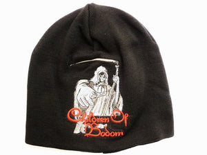 CHILDREN OF BODOM Reaper Acrylic Wool Beanie Hat BNWT - A Patch E Store