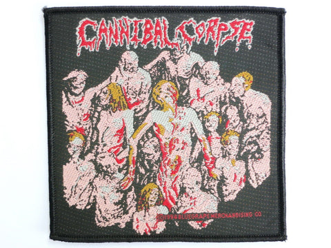 CANNIBAL CORPSE The Bleeding Vintage Sew On Woven Patch