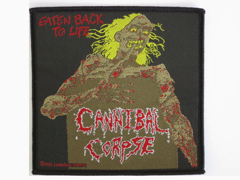 CANNIBAL CORPSE Eaten Back To Life Woven Patch - A Patch E Store