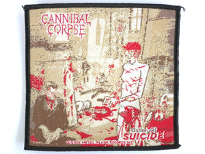 CANNIBAL CORPSE Suicide Gallery Woven Patch - A Patch E Store