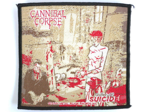 CANNIBAL CORPSE Suicide Gallery Vintage Woven Patch