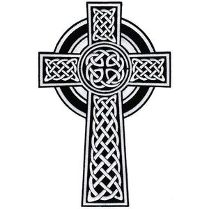 "Celtic Cross Crucifix Gothic Big XXL Jacket Back Patch 14.4""/36cm - A Patch E Store"