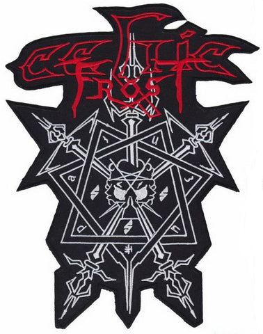 "CELTIC FROST Morbid Metal Big XL Jacket Back Patch 11""/28cm - A Patch E Store"