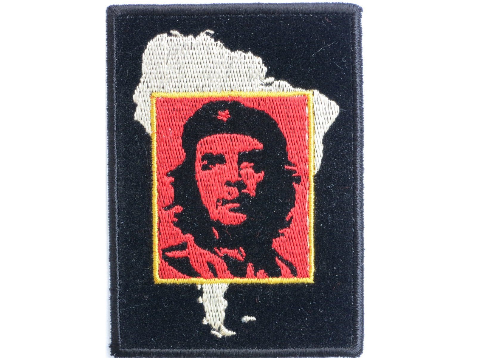 Che Guevara Latin America Map Sew On Embroidered Patch - A Patch E Store