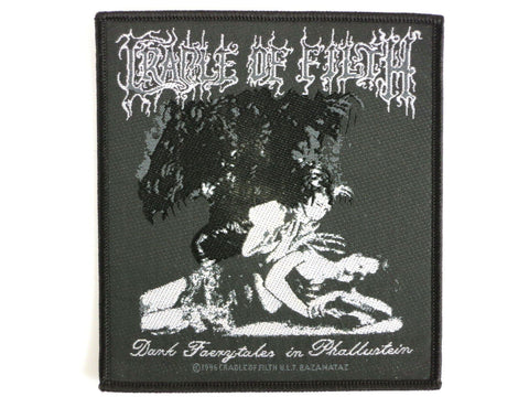 CRADLE OF FILTH Faerytales Metal Woven Patch - A Patch E Store