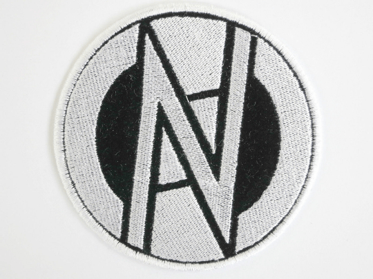 "CONFLICT Logo Anarchy Punk Sew On Embroidered Patch 3.5""/9cm - A Patch E Store"