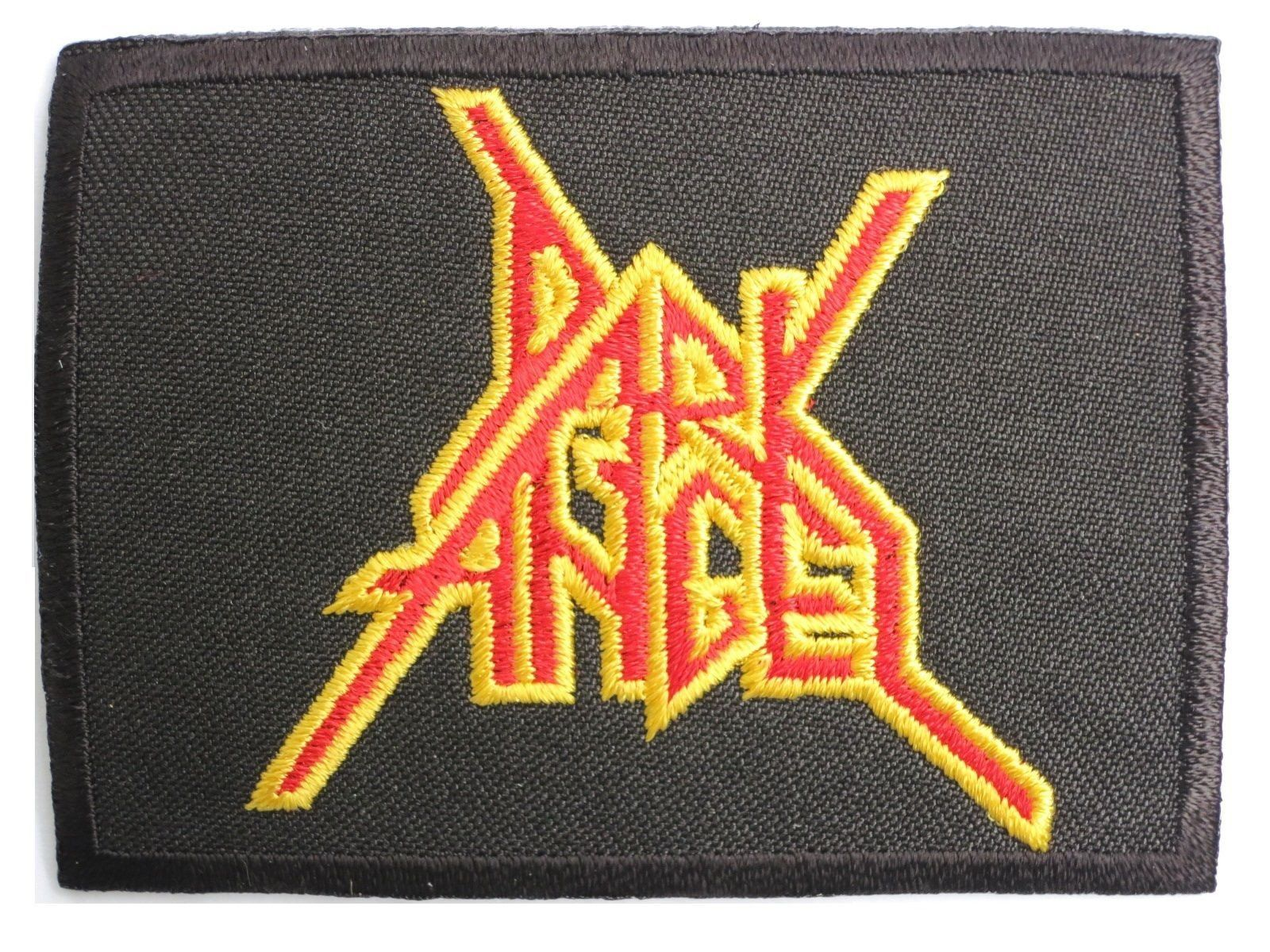 "DARK ANGEL Iron On Thrash Metal Embroidered Patch 3""/7.8cm - A Patch E Store"