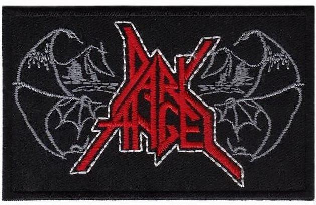 "DARK ANGEL Wings Of Evil Iron On Thrash Metal Embroidered Patch 4""/10cm - A Patch E Store"