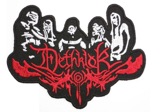"DETHKLOK Metal Cartoon Band Iron On Embroidered Patch 4""/10cm - A Patch E Store"