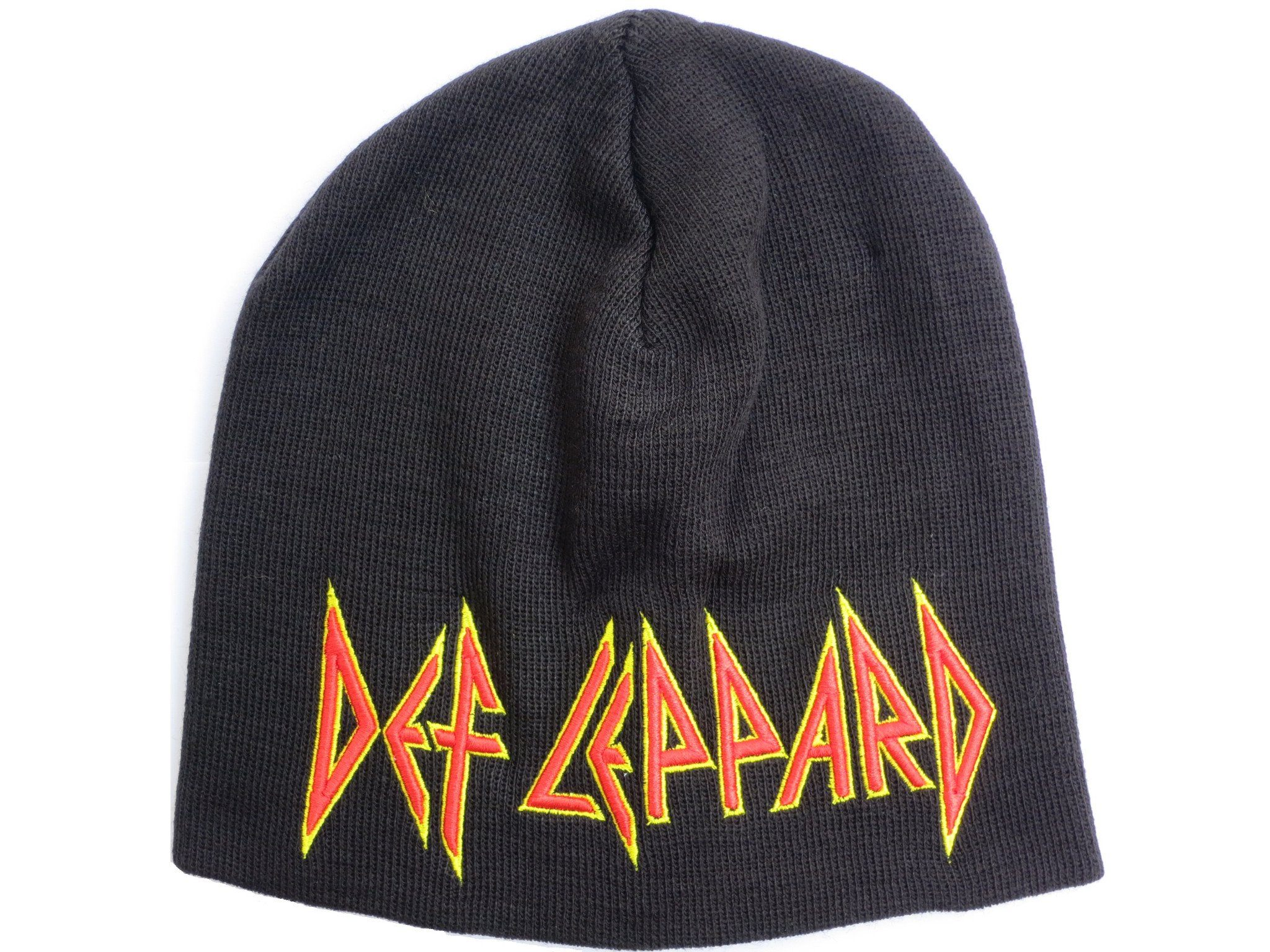 DEF LEPPARD Winter Wool Beanie Hat BNWT - A Patch E Store