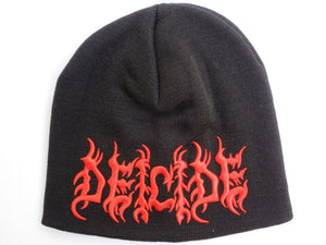 DEICIDE Logo Acrylic Wool Beanie Hat BNWT - A Patch E Store