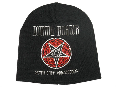DIMMU BORGIR Death Pentagram Warm Wool Beanie Hat BNWT - A Patch E Store