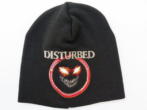 DISTURBED Face Winter Wool Beanie Hat BNWT - A Patch E Store