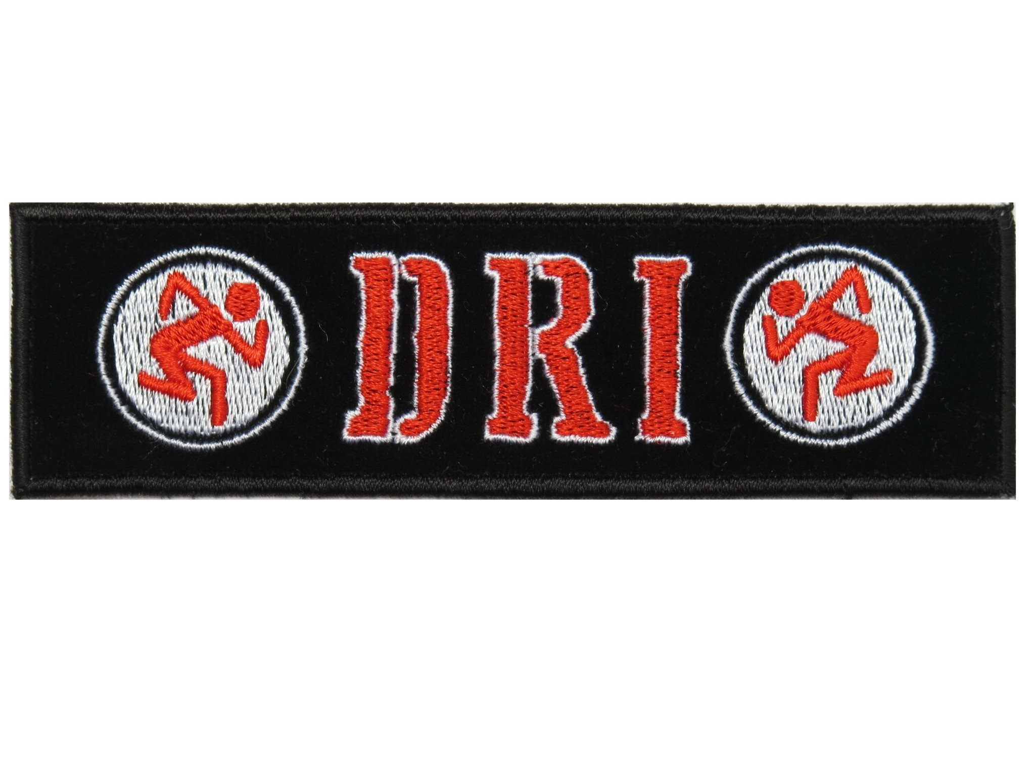 "D.R.I DIRTY ROTTEN IMBECILES Thrasher Sew On Embroidered Patch 5"" - A Patch E Store"