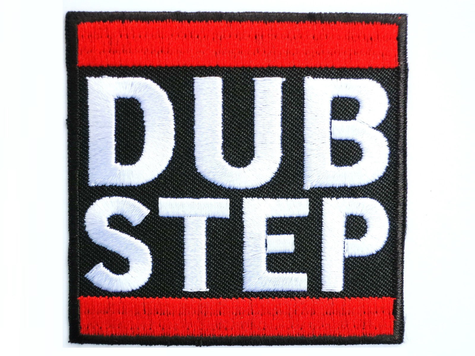 "DUB STEP Electro Dance DnB Drum Bass Iron On Sew On Embroidered Patch 2.7""/7cm - A Patch E Store"