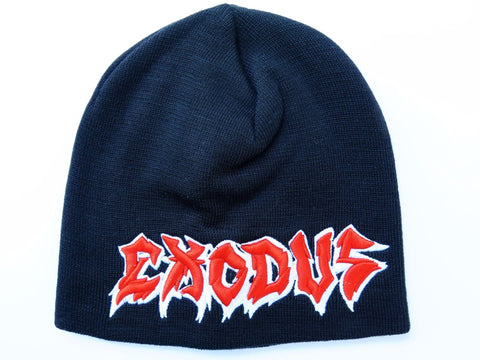EXODUS Logo Winter Wool Beanie Hat BNWT - A Patch E Store