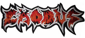 "EXODUS Thrash Metal Big XL Jacket Back Patch 12.6""/32cm - A Patch E Store"