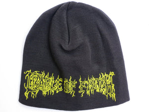 CRADLE OF FILTH Logo Acrylic Wool Beanie Hat BNWT - A Patch E Store