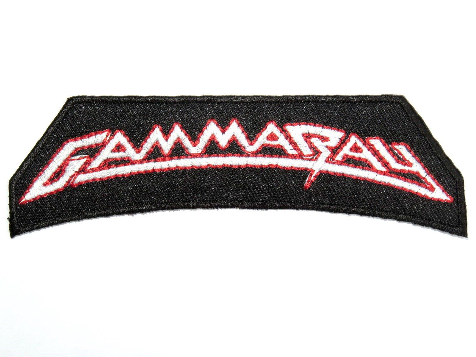 "GAMMA RAY GAMMARAY Metal Iron On  Embroidered Patch 4.6""/11.8cm - A Patch E Store"