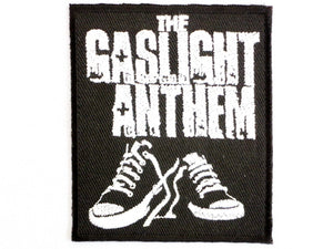 "GASLIGHT ANTHEM Iron On Sew On Embroidered Patch 2.9""/7.5cm - A Patch E Store"