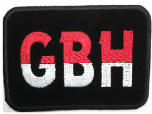 "GBH Hardcore Punk Thrash Sew On Embroidered Patch 3.6""/9.2cm - A Patch E Store"