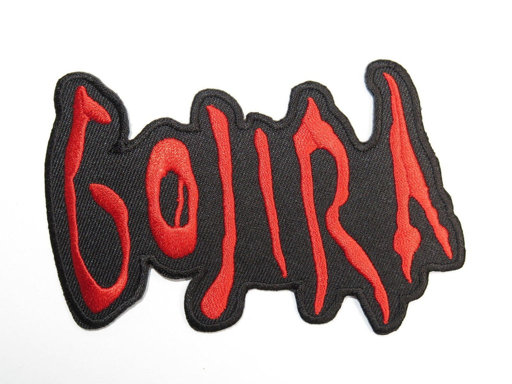 "GOJIRA Heavy Metal Iron On Sew On Embroidered Patch 4.4""/11.2cm - A Patch E Store"