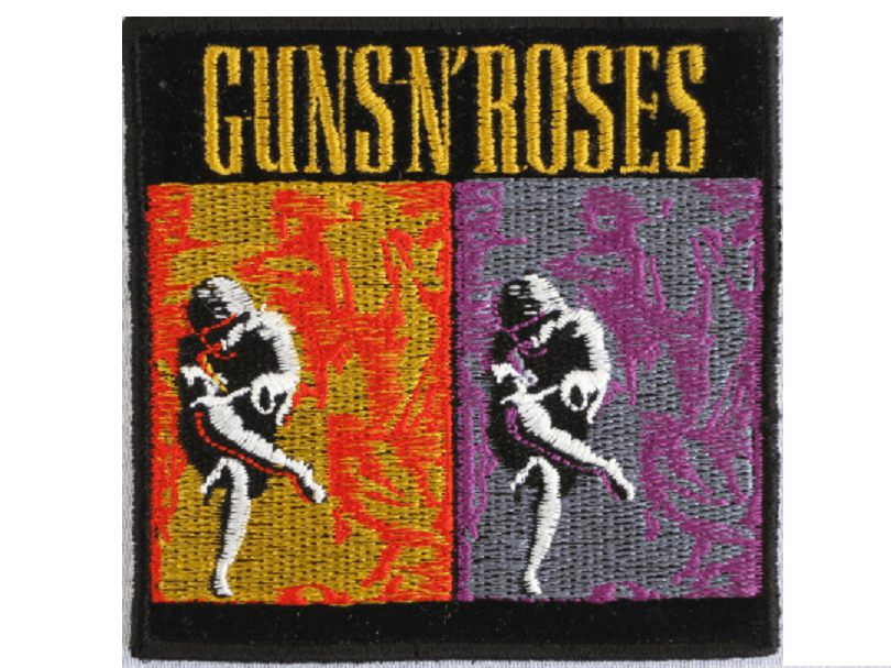 "GUNS N ROSES Use Your Illusion Sew On Embroidered Patch 3""/7.6cm - A Patch E Store"