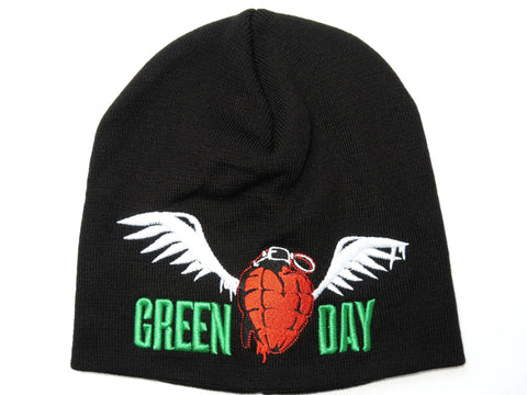 GREEN DAY Grenade Logo Acrylic Wool Beanie Hat BNWT - A Patch E Store
