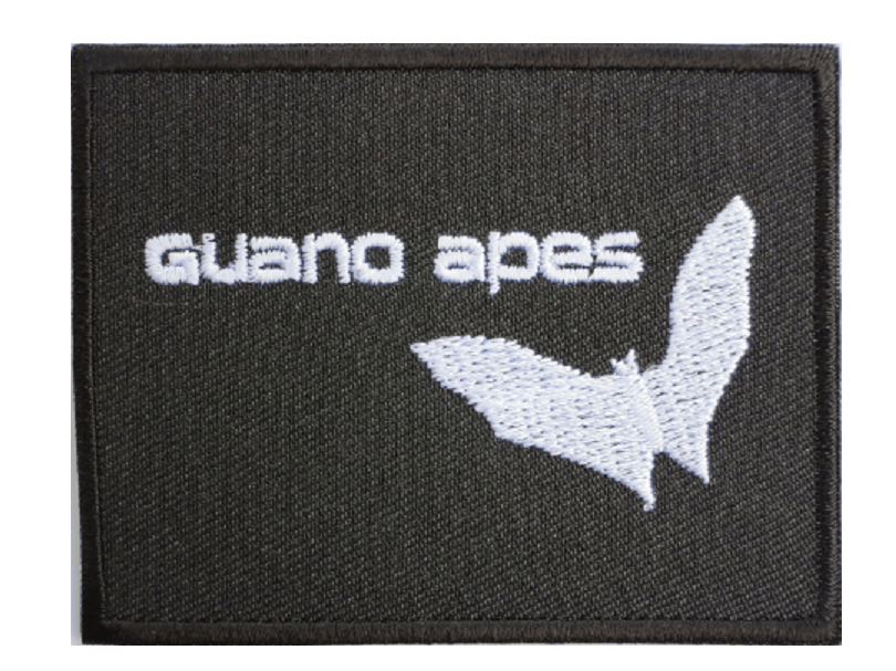 "GUANO APES Grunge Bat Iron On Embroidered Patch 2.9""/7.4cm - A Patch E Store"