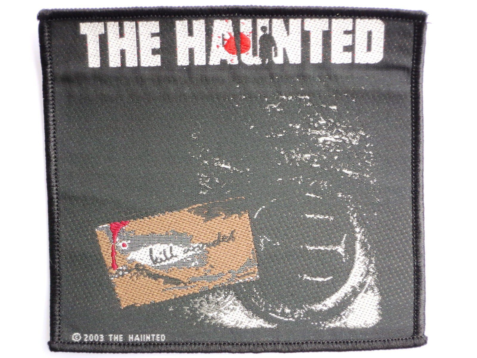 THE HAUNTED Sew On Thrash Metal Woven Patch - A Patch E Store