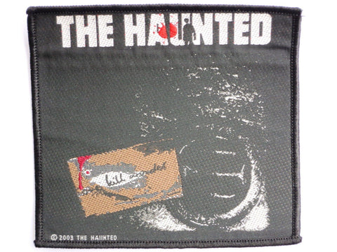 THE HAUNTED Sew On Vintage Thrash Metal Woven Patch