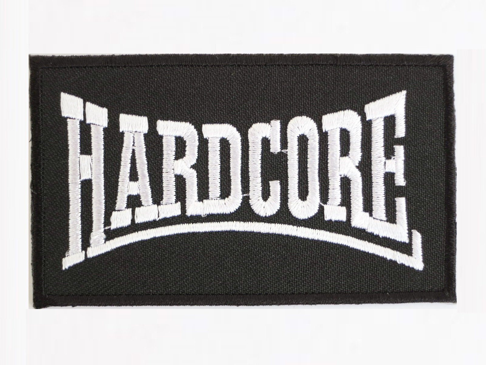 "HARDCORE Punk Metal NY Biker Iron On Embroiderd Patch 3.2""/8.4cm - A Patch E Store"