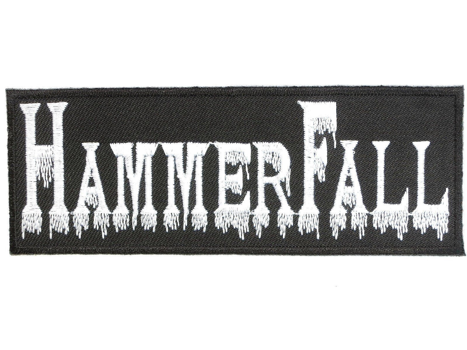 "HAMMERFALL Logo Iron On Embroidered Patch 4.6""/11.8cm - A Patch E Store"