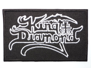 "KING DIAMOND Heavy Metal Iron On Embroidered Patch 3.4""/8.5cm - A Patch E Store"