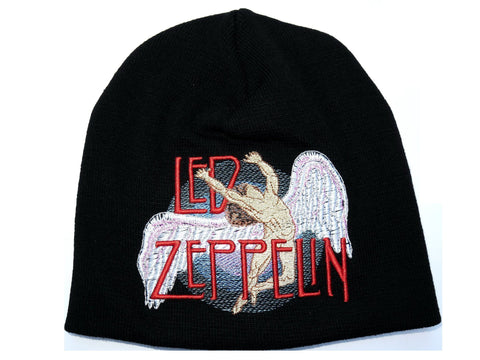 LED ZEPPELIN Angel Acrylic Wool Beanie Hat BNWT - A Patch E Store