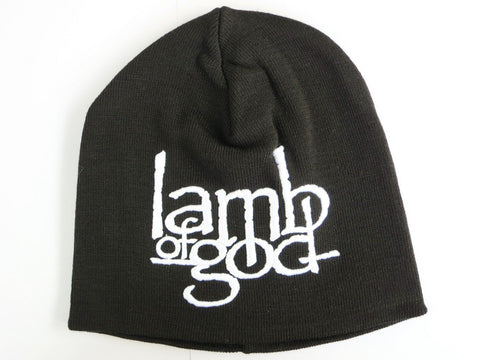 LAMB OF GOD Winter Skate Ski Embroidered Beanie Hat BNWT - A Patch E Store