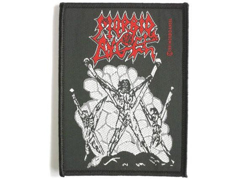 MORBID ANGEL Death Metal Sew On Woven Patch - A Patch E Store