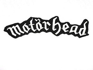 "MOTORHEAD Iron On Sew On Embroidered Patch 5.9""/15cm - A Patch E Store"