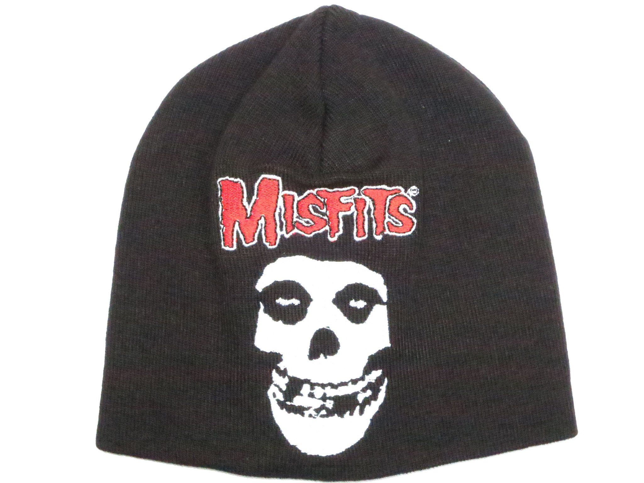 MISFITS Punk Skull Winter Wool Beanie Hat BNWT - A Patch E Store 1cce08d59d9