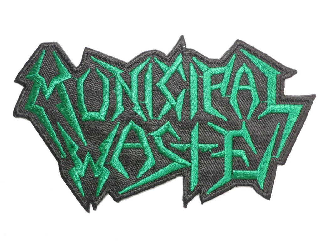 "MUNICIPAL WASTE Iron On Embroidered Thrash Metal Patch 4.6""/12cm - A Patch E Store"