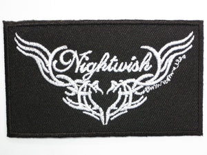 "NIGHTWISH Logo Iron On Sew On Embroidered Patch 3.5""/9cm - A Patch E Store"