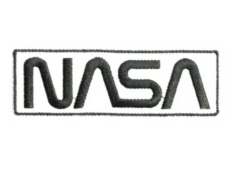 "NASA Space Centre Shuttle Apollo Iron On Sew On Embroidered Patch 3.7""/10cm - A Patch E Store"