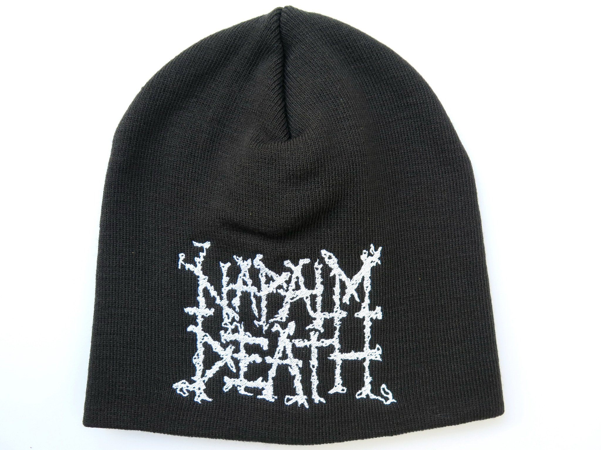 NAPALM DEATH Logo Winter Wool Beanie Hat BNWT - A Patch E Store