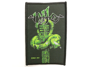 NILE Ankh Sew On Death Metal Woven Patch - A Patch E Store