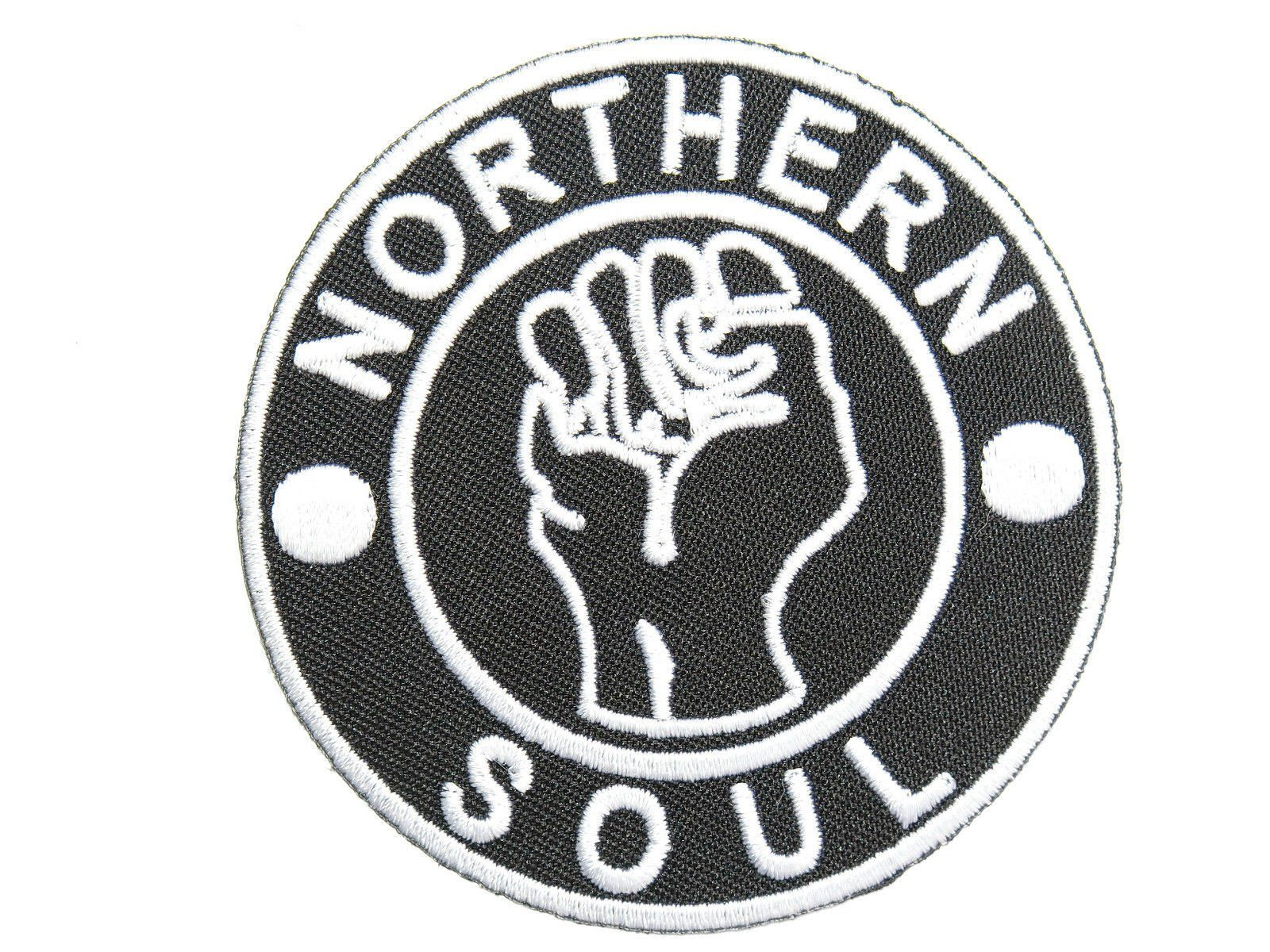 "NORTHERN SOUL Mods Skins Ska Embroidered Patch 2.9""/7.5cm - A Patch E Store"