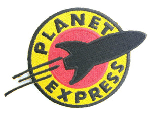 "Planet Express Futurama Iron On Embroidered Patch 4.2""/11cm - A Patch E Store"