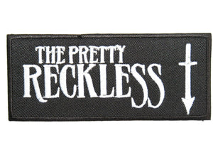 "THE PRETTY RECKLESS Embroidered Iron On Sew On Patch 4.1""/10.5cm - A Patch E Store"