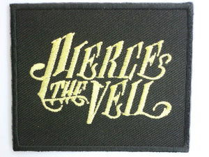 "Pierce the Veil Iron On Sew On Embroidered Patch 2.6""/7cm - A Patch E Store"
