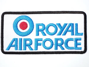 "Royal Air Force RAF Target Iron On Embroidered Patch 3.6""/9.4m - A Patch E Store"